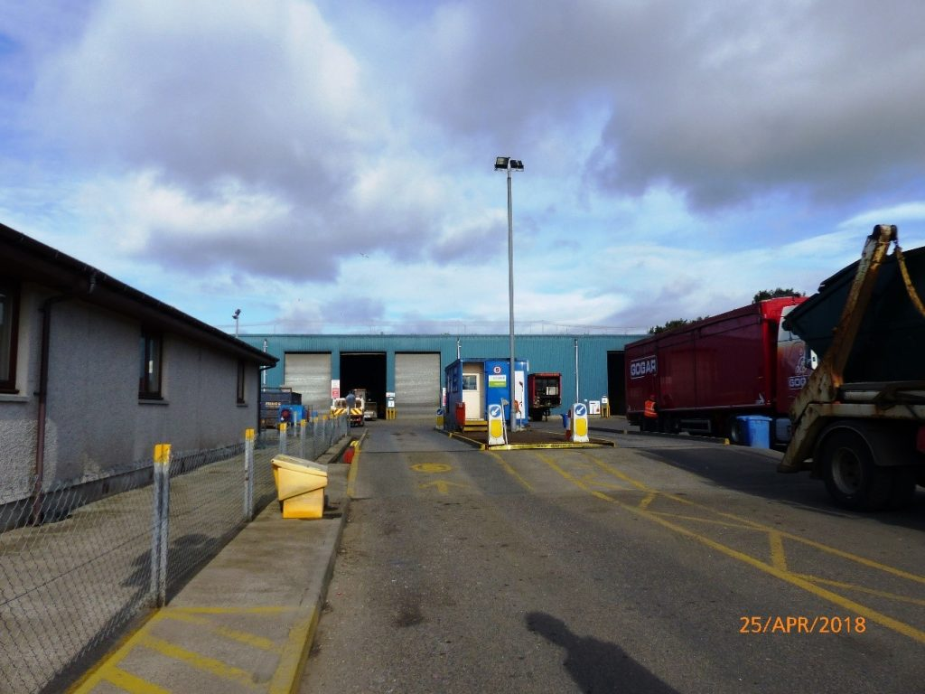 Welcome to Inverness Transfer Station